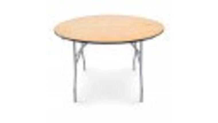 "Picture of a 48"" Round Table"