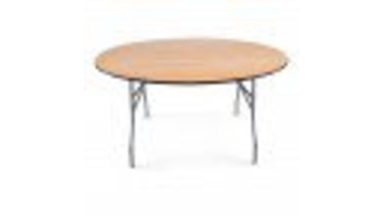 """Picture of a 60"""" Round Table"""