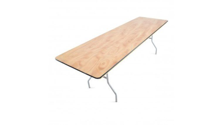 Picture of a 8' Banquet Table