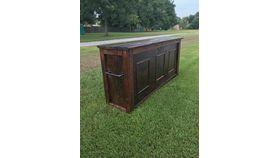 8' Wooden Bar Rental image