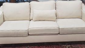 Image of a White Sofa