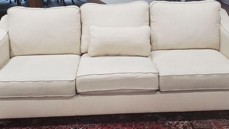 Picture of a White Sofa