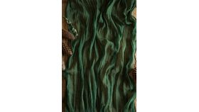 Image of a Gauze Table Runner - 16' Moss Green