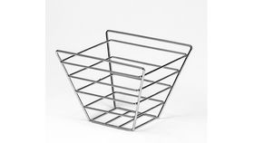 """Image of a 7.5"""" Stackable Metal Wire Basket"""
