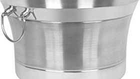 Image of a Double Wall Round Beverage Tub | Stainless Steel