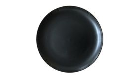 "Image of a 13"" Charcoal Stoneware Charger"