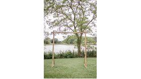 Image of a Split Wood Arbor