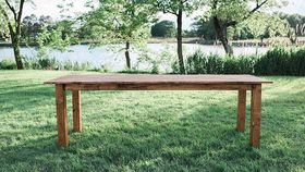 Image of a Classic Farmhouse Table