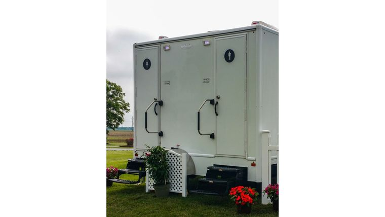 Picture of a Restroom Trailer - 150 capacity