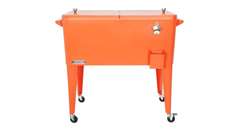 Picture of a Cali Beverage Cooler Cart