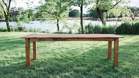 Image of a Classic Farmhouse Table Original