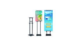 Image of a Menu & Banner Stand