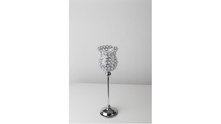 "Picture of a 16"" Crystal Beaded Goblet"