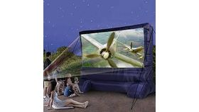 Image of a 12ft Blowup Projection Screen