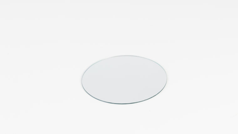 "Picture of a 6"" Round Mirror"