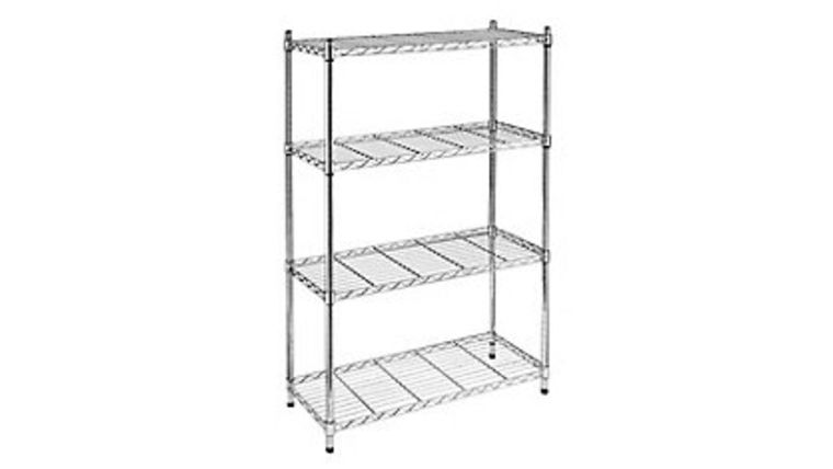 Picture of a Silver Bar Rack