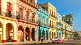 Image of a Colorful Building Facades