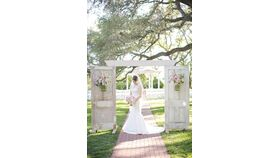 Image of a Ceremony Antique Entrance Doors