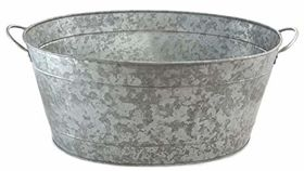 Image of a Galvanized Beverage Tub