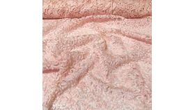 Image of a 12x108 Pink Patina Lace Runner