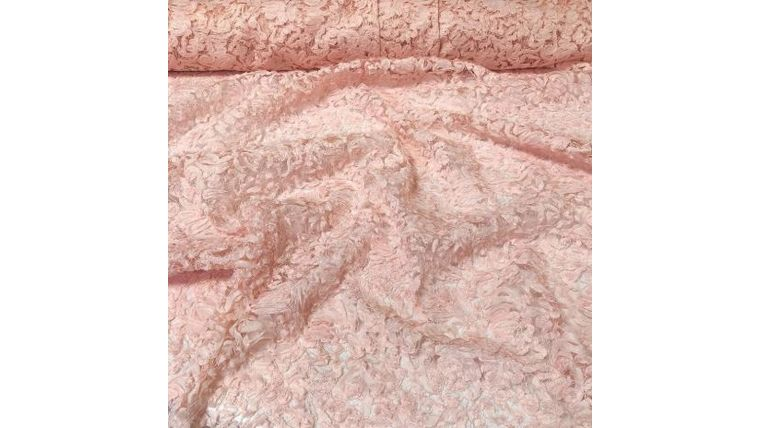 Picture of a 12x108 Pink Patina Lace Runner