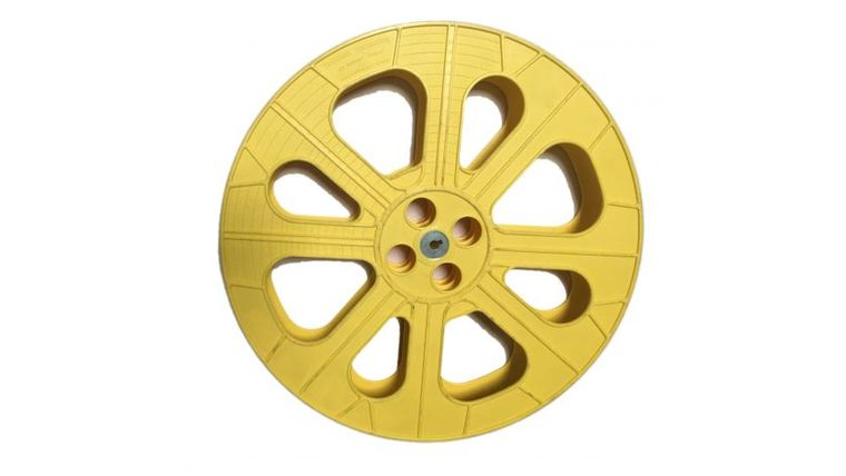 Picture of a Large Plastic Movie Reels