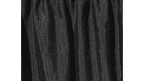 Image of a 8ft Black Banjo Drape