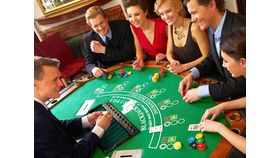 Image of a Black Jack Table