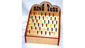 Image of a Peg Board Ring Toss