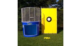Image of a Dunk Tank with Attendant