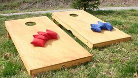 Image of a Cornhole Set