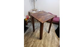 Image of a 2.5ft Square Rustic Low Cocktail