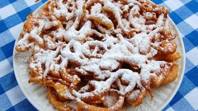 Image of a Funnel Cake Machine