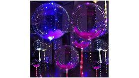 Image of a Illuminated Helium-Balloons
