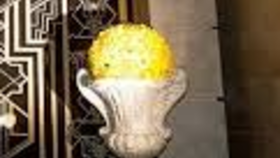 Image of a Urns with Fresh Flowers