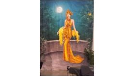 Image of a Airbrushed Vintage 20's Murals