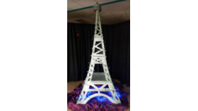 Image of a 10ft Eiffel Tower