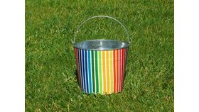 Image of a Beach Pail Umbrella Stand