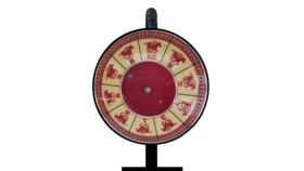 Image of a Triple Crown Racing Wheel with Attendent