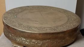 Image of a Gold Cake Stand