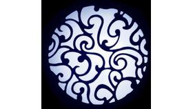 Image of a ADJ Lace Scroll Gobo
