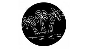 Image of a 3 Palm Trees Gobo