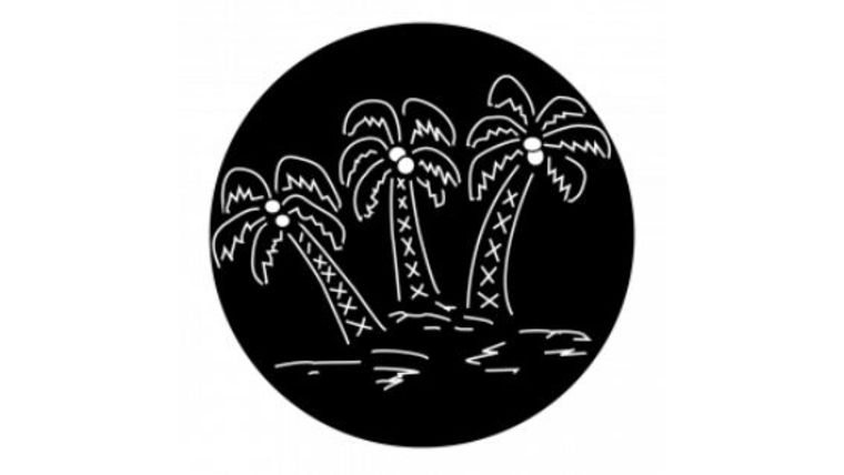 Picture of a 3 Palm Trees Gobo