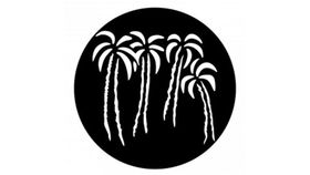 Image of a 4 Palm Trees Gobo