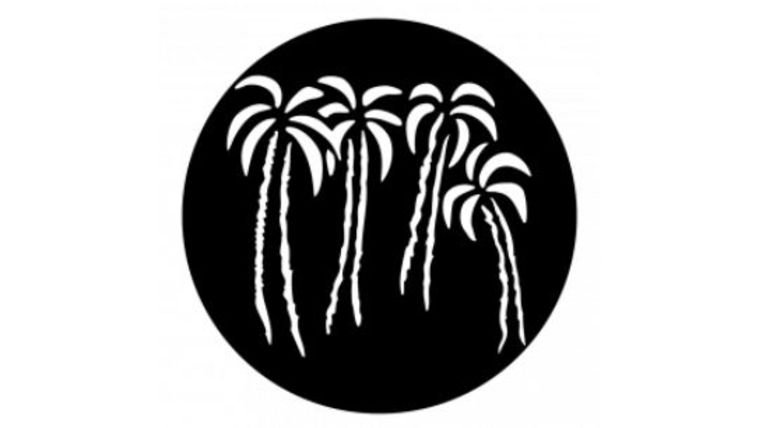 Picture of a 4 Palm Trees Gobo