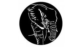 Image of a African Elephant Gobo