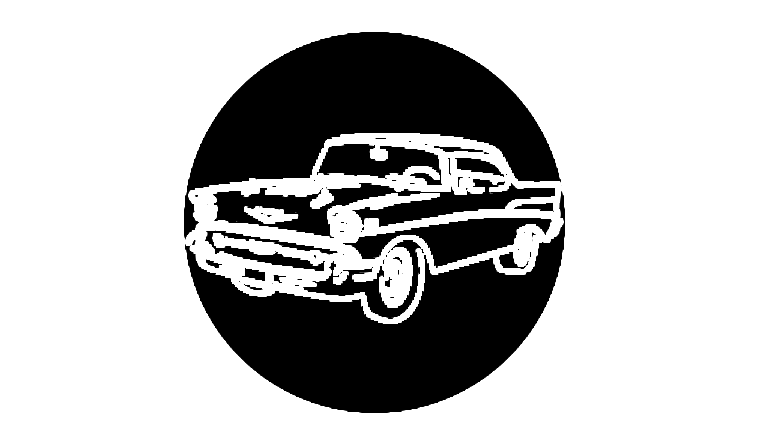 Picture of a 1950s Chevy Gobo