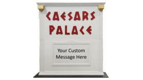 Image of a Caesars Palace Marquee Sign