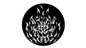 Image of a Breakup Angry Fire Gobo