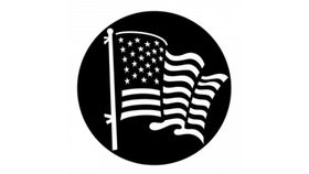 Image of a American Flag Gobo
